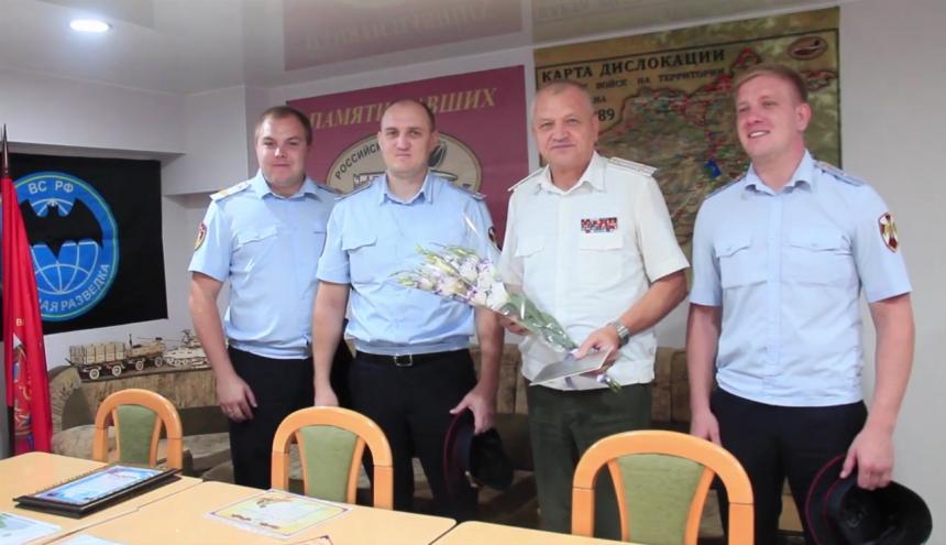 Праздник боевых товарищей: день офицера отметили в Анапе (Видео)