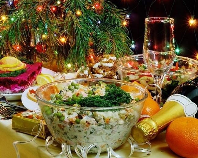 Что готовят на новый год в россии