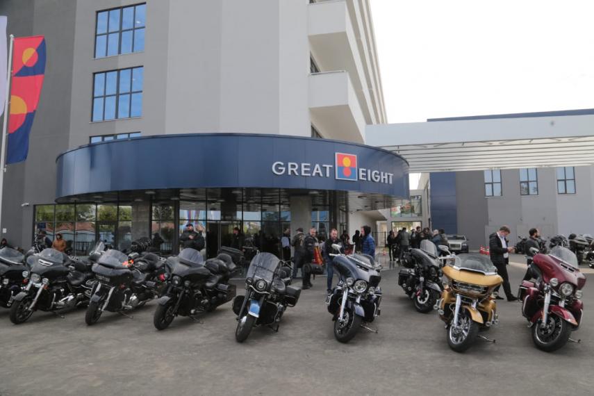 Байкеры России завершили мотосезон в Анапе